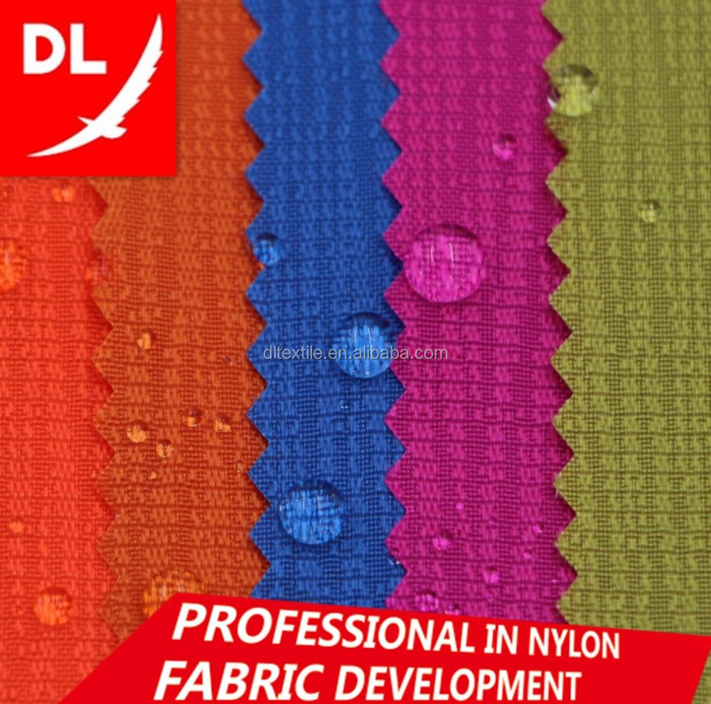 420D nylon fabric jacquard fabric branches lines style oxford fabric PU coating
