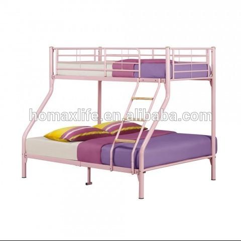 Muebles de dormitorio marco de metal de cucheta triple para los ...