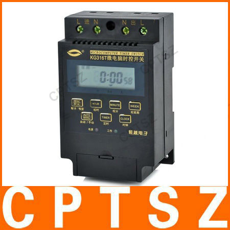 "2.0"" LCD Digital Automatic Microcomputer Timer Switch"