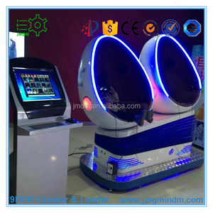 South America hot sale 9d egg vr cinema for amusement park