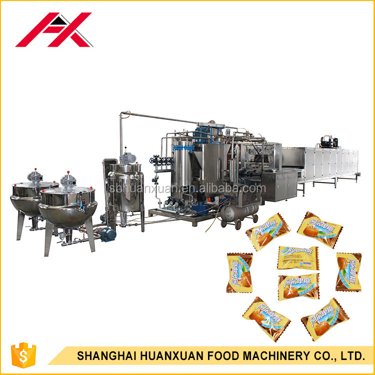 Automatic Commercial Industrial Hard Candy Manufacturing Plant
