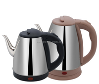 kitchen appliance electric gooseneck kettle long mouth stainless steel electric kettle
