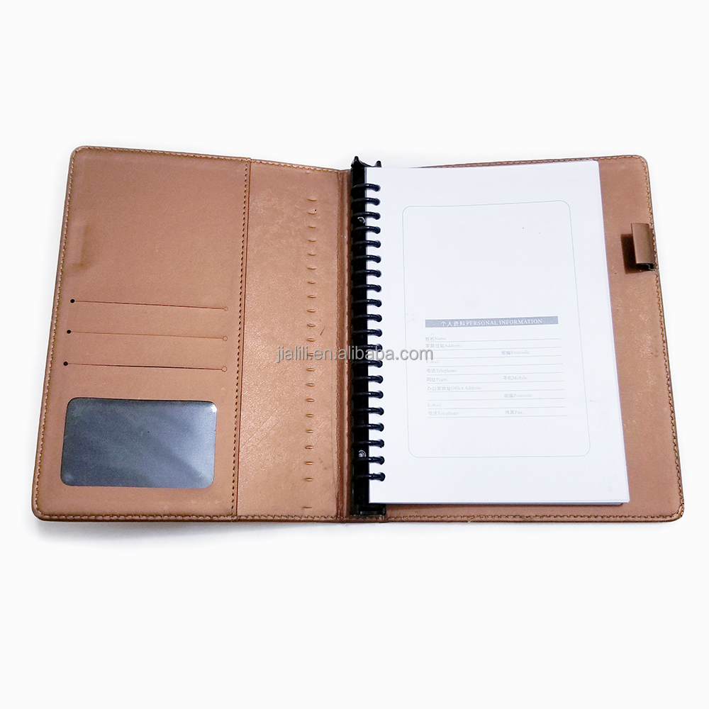 Daily Planner Leather A5 Leather Planner With Ring Binder