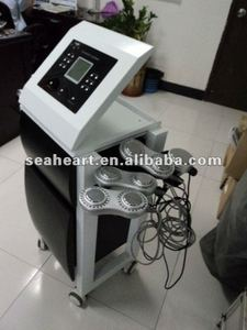 Ultrasonic Cavitation + RF + LED + Microcurrent Slimming Beauty Equipment