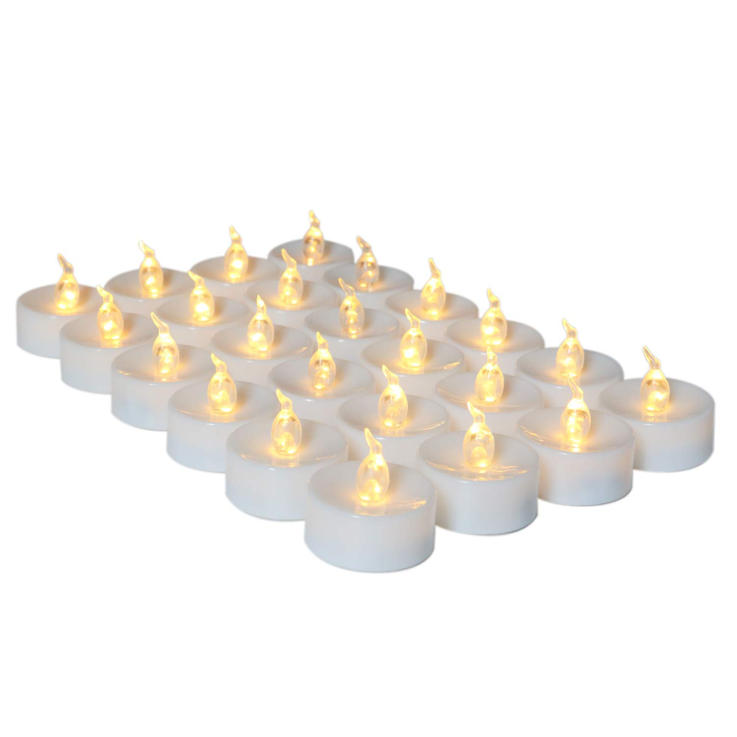 Buy 100 X Flameless Light LED warm white Tealight Flameless