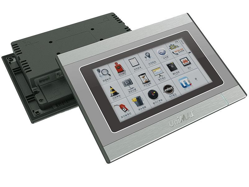 """UniMAT 7"""" Touch Screen Display Low Cost HMI Chinese Manufacturer"""