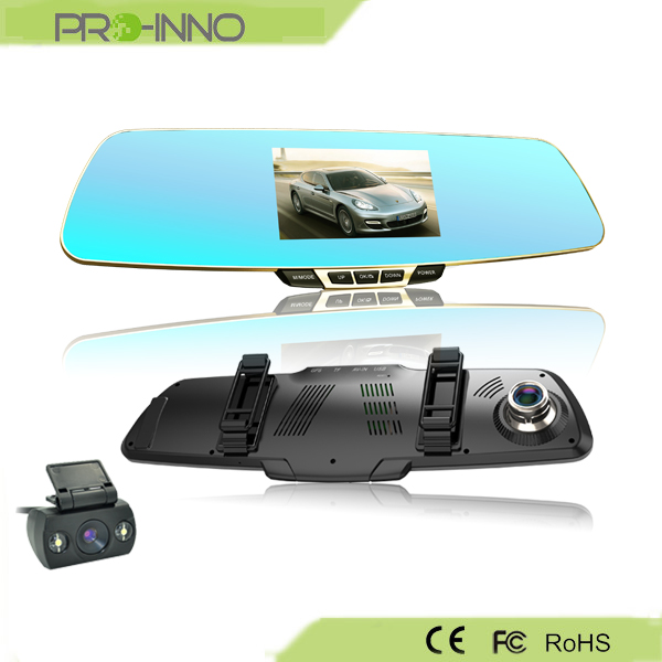 FHD Video Dual Lens Cam Car Dash MIRROR DVR - Police/Court/Insurance Evidence