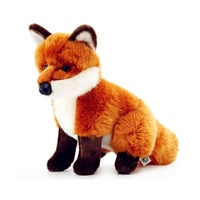 vivid soft fox,stuffed fox toy animal,big plush fox