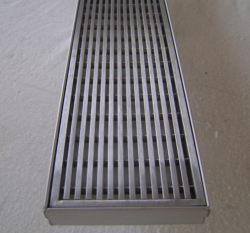 Standard Tub Size And Other Important Aspects Of The Bathroom: Stainless Steel Linear Shower Floor Drain With Wedge Wire