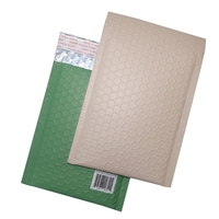 Wholesale Customized Printed Lime Green Bubble Envelope Matte Light Green Metallic Bubble Mailer