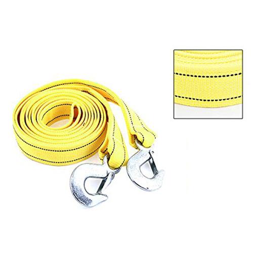 Сзс горячая 4 м 5 тонн желтый нейлон пружиной буксировка аварийной буксировки ремешок