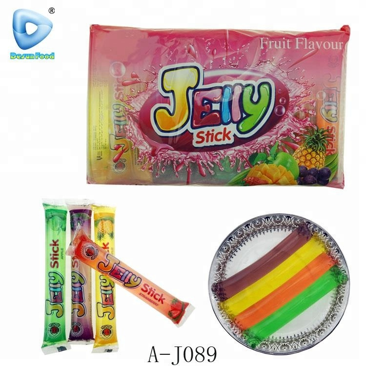 Halal sweet fruit flavour jelly stick