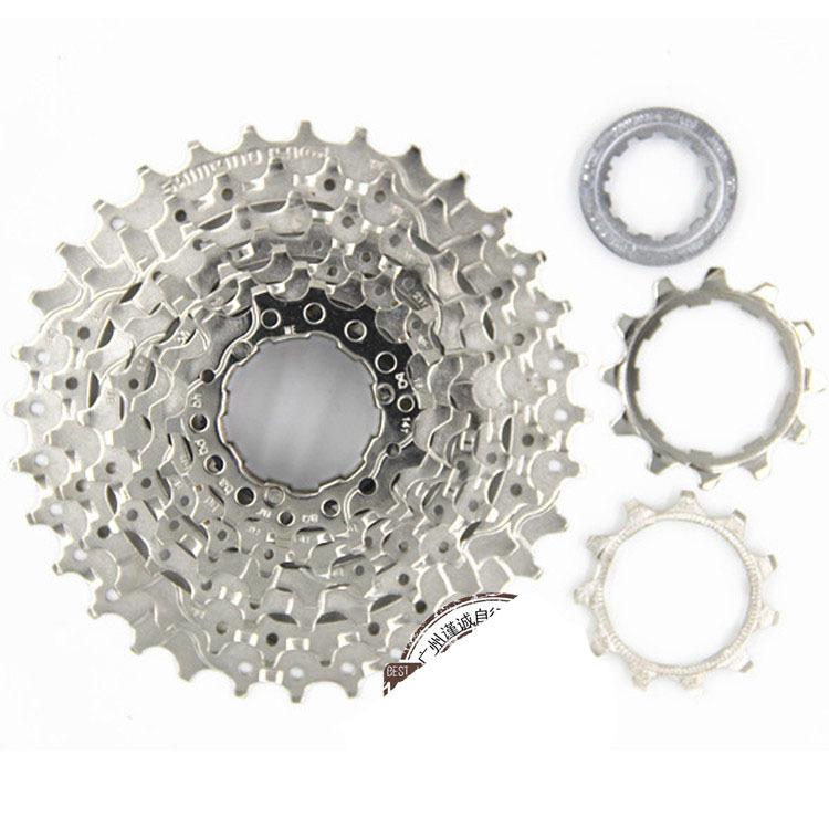 0f70122ff02 Get Quotations · free shipping 2015 latest 11-32T cassette road bike 9  Speed Flywheel Mountain Bike Freewheel