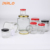 45ml 60ml 80ml 100ml 180ml 280ml 380ml 770ml Clear empty food storage glass jar polygon glass jar with screw lid