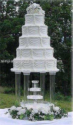 grand acrylique gteau stand gteau stand avec plume pour le mariage - Fontaine Gateau Mariage