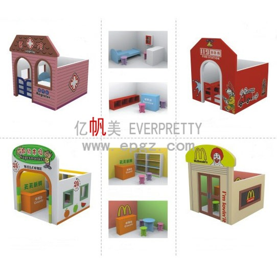 Wholesale Nursery School Children Wooden Doll House Miniature Furniture Buy Wooden Doll House