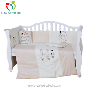 Cotton Crib Bedding Set For Baby