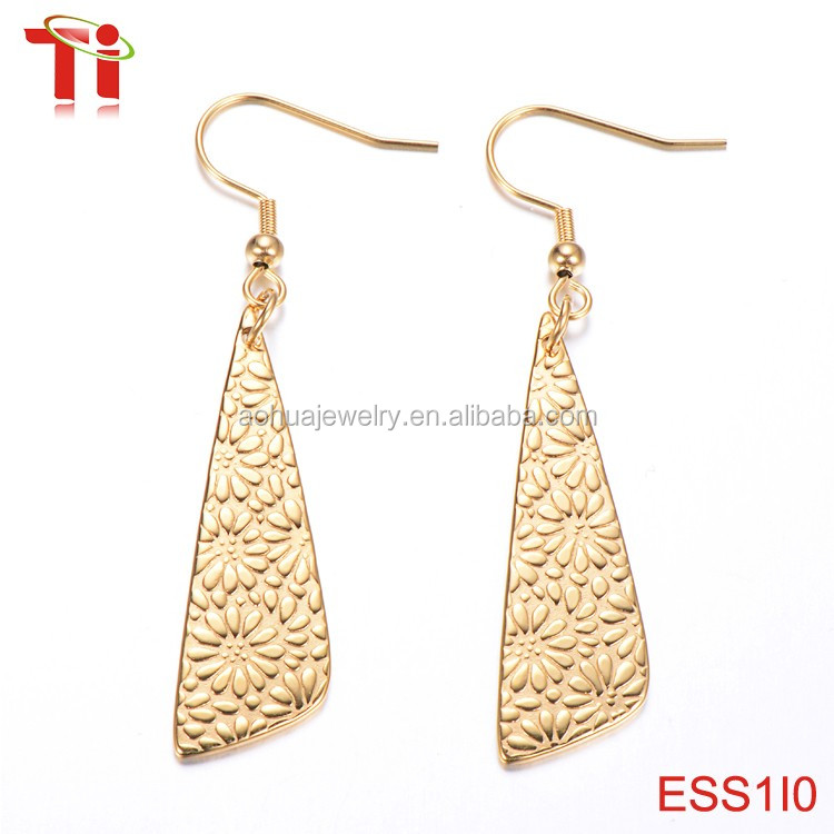 Go steel jewelry dubai gold jewelry earring latest product 2017 ...