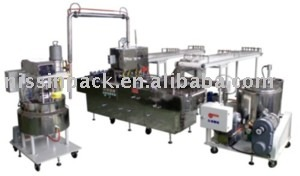 MM823/824 Biscuit creaming machine of double deposit fillings