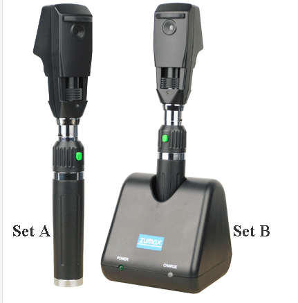 Rechargeable Streak Retinoscope Set/ophthalmoscope retinoscope SR24A