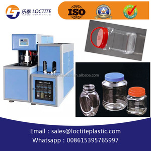 wide mouth jar pet bottles blowing machine cans beverage can bottles stretch blow molding / moulding machine