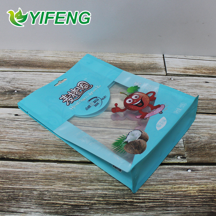 Heat Sealable Grade Holographic Printing Plastic For Sachet In Packaging Flat Paper Merchandise Freezer Safe Food Bags