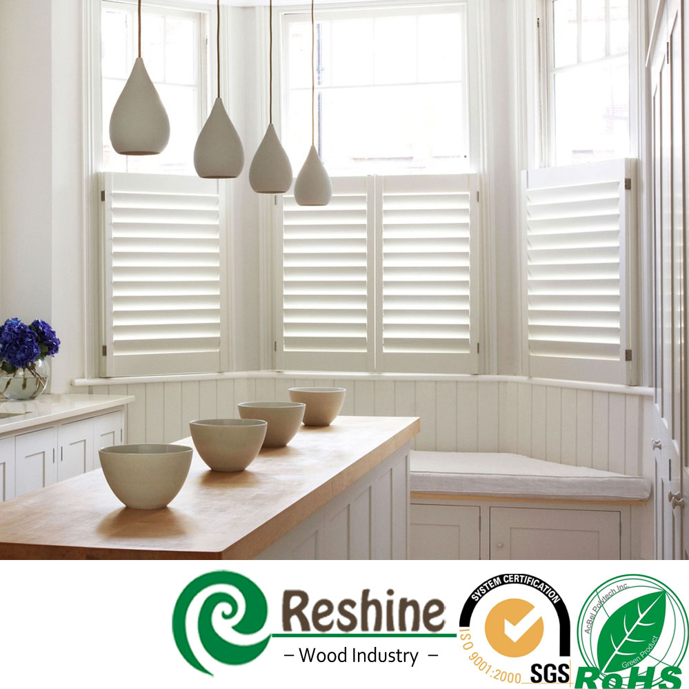 Completed Wooden Window Shutter Plantation