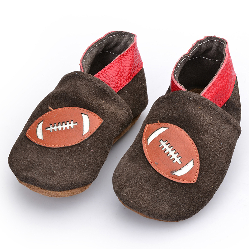 First top layer of leather baby boy & girl first walkers baby shoes prewalker toddler wholesale soft the boy's favorite sports