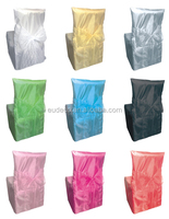 organza Chair sash for banquet decoration