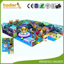 Factory supply high quality naughty castle indoor playground games with different colors