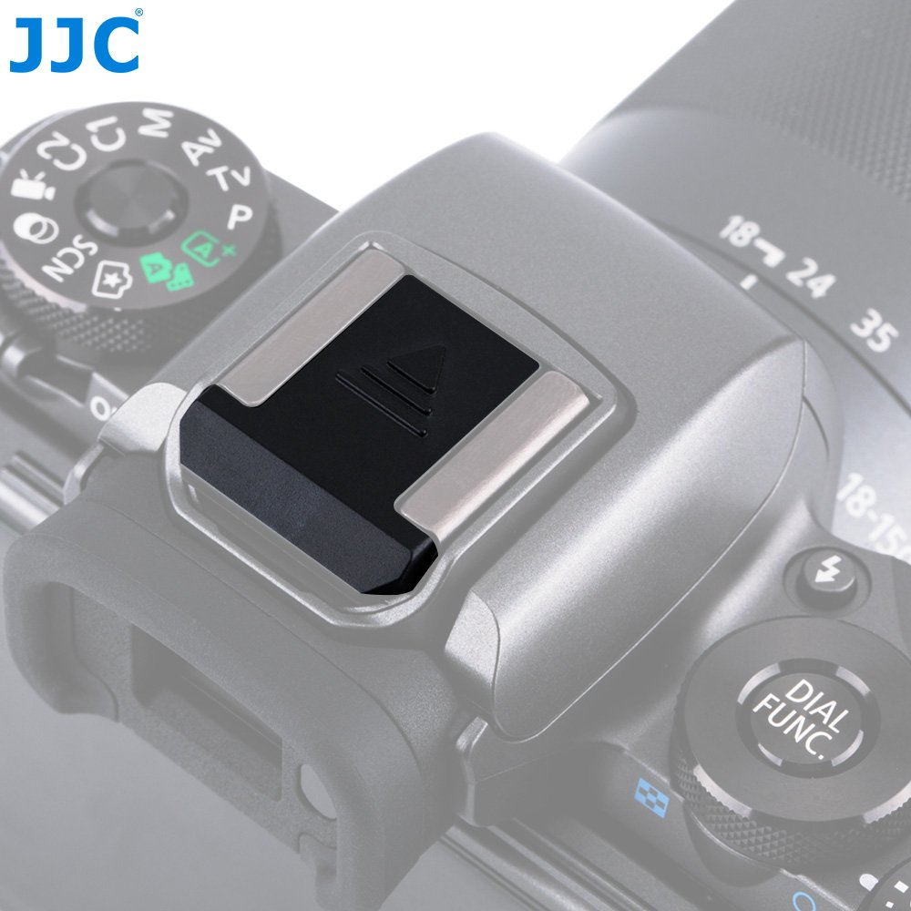 7793062a9b Get Quotations · JJC Black ABS Snug Hot Shoe Cover Anti Scratch Protector  Cap for Canon EOS 6D Mark