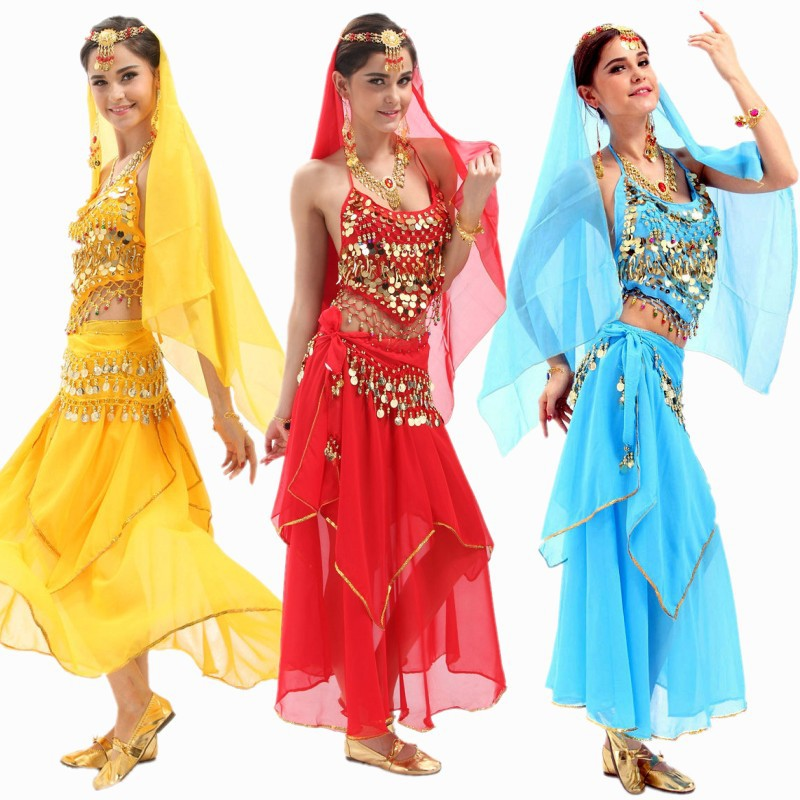 Coin Belly Dance Costume Bollywood Costume Indian Dress