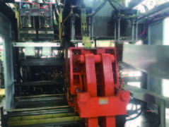 10Liter IML Extrusion blow molding machine