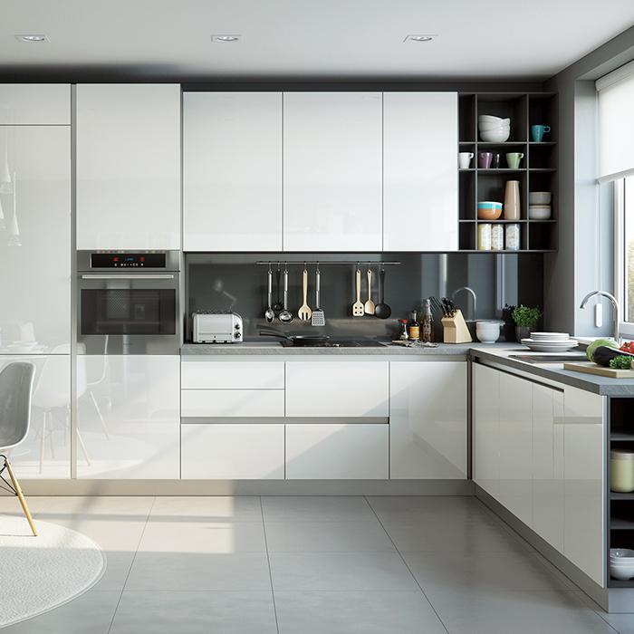 Modern Kitchen Cabinets Design Mdf Kitchen Cabinet White ...