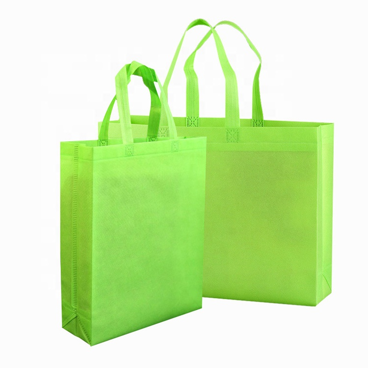 Supermarket shopping bag 40gsm non woven bag for <strong>promotion</strong>