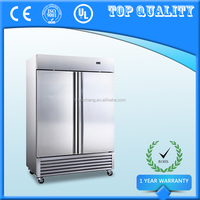 Commercial Two Door Reach in Fridge Upright Freezer