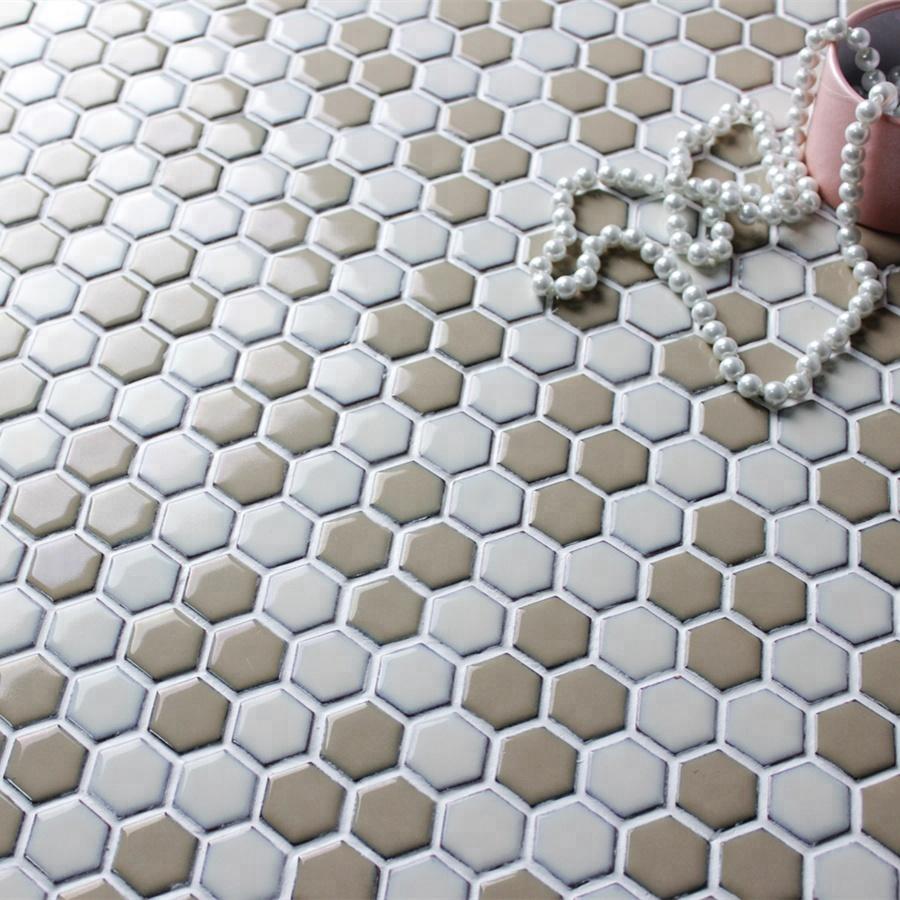 Piastrelle Cucina Con Fiori wintersweet fiori 1 inch esagono porcellana piastrelle cucina backsplash  mattonelle di mosaico - buy esagono porcellana piastrelle,cucina backsplash