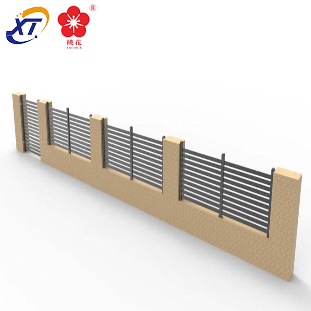 China Foshan aluminium slatted privacy fencing factory & Hottest sale aluminum slat fence prices