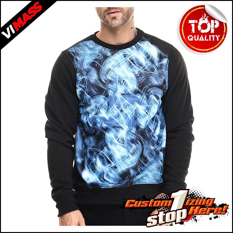 Sublimation All Over Print Custom Crewneck Sweater Sweatshirt Men ...