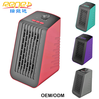 500W Fast Portable Power PTC Heaters Handy Electric Mini Heater for Large Rooms