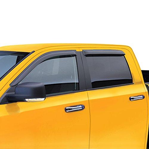 LT Sport SN#100000000074-201 For FORD F-150 Side Vent Shade Window Acrylic Deflector Visor