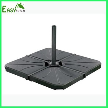 Garden Deck Cement Stand Central Pole Patio Umbrella Concrete Base