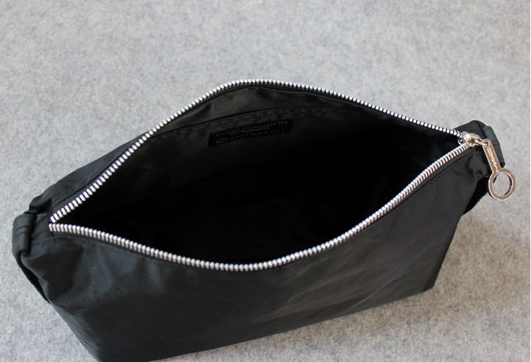 Cheap black Convenient Travel Cosmetic makeup bag