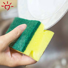 Kitchen cleaning scourer washing sponge dish foam sponge scrubber pad