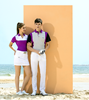 2017 New Function Softshell Couples Clothing golf polos