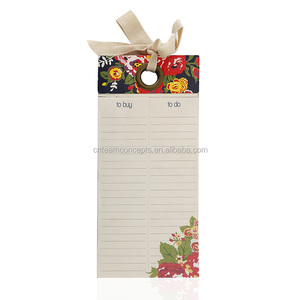 Printed Fridge Magnet Notepad With Pen