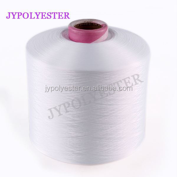 100% Polyester filament DTY Yarn in raw white and Dope Dyed Colors
