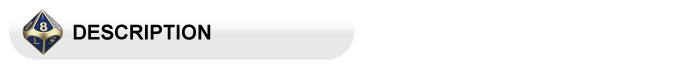 Dados de jogo de material de rpg prata personalizado latão