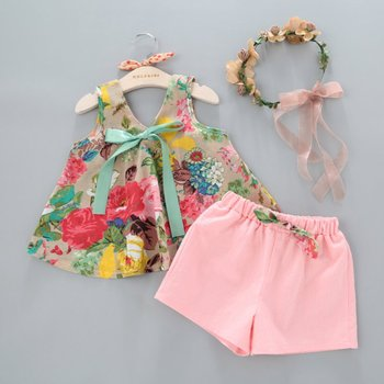f39d31d80 Zy-0101 Beautiful Flower Baby Girl Fashion Clothing Sets - Buy Baby ...