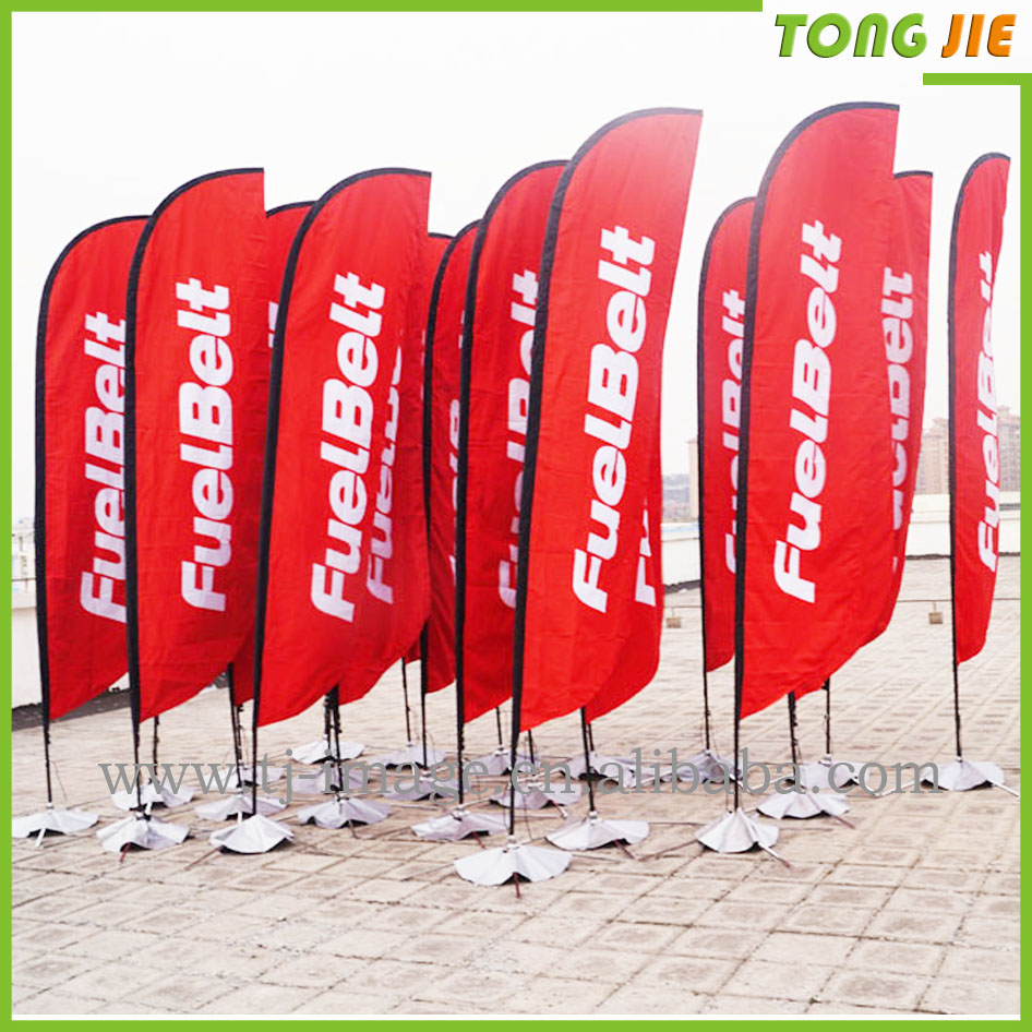 Promotional Usage Advertising Exhibition Event Outdoor Feather ...